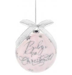 A delightful little bauble, perfect for any home with a new born
