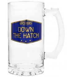 this Large Tankard Glass will be sure to make a great gift idea for any Gents Society Member