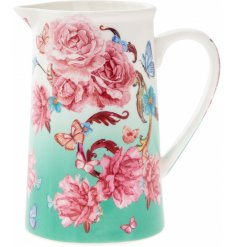 Display your favourite flowers in this bold and beautiful Oriental Blossom jug
