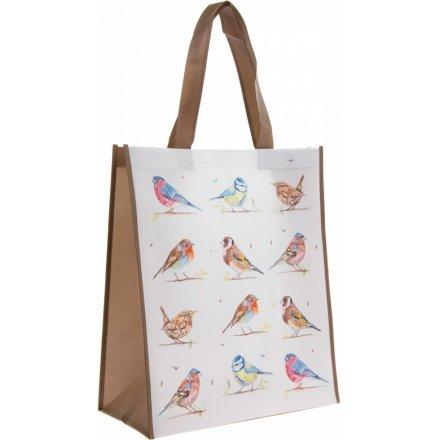 Country Birds Shopping Bag