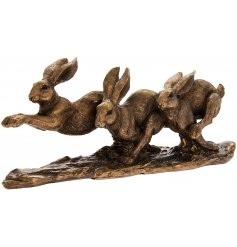 Introduce a vintage bronzed touch to your home space with this beautifully detailed ornamental figure