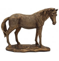 A fabulous edition to the Reflections collection is this Bronzed Horse.