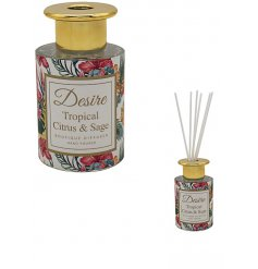 Part of a stylish new range of scented Reed Diffusers and gift sets is this sweetly scented Boutique Diffuser