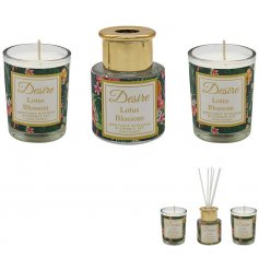 this sweetly scented reed diffuser and candle pot gift set will be sure to bring a splash of colour to any home space