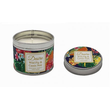 Wild Fig & Cassis Noir Boutique Candle Tin