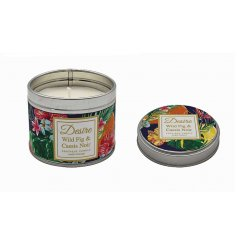 Desire Boutique Candle Tin - Wild Fig & Cassis Noir