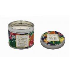 Wild Fig & Cassis Noir Boutique Candle Tin