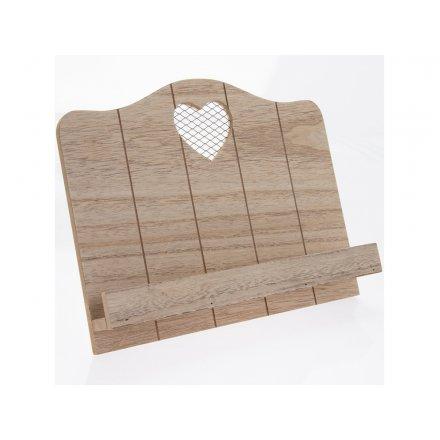 Heart Recipe Stand 31cm