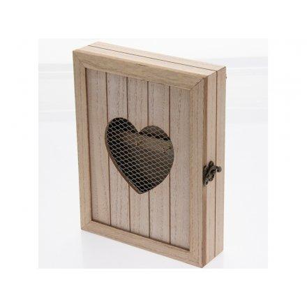 Heart Key Cabinet 27cm