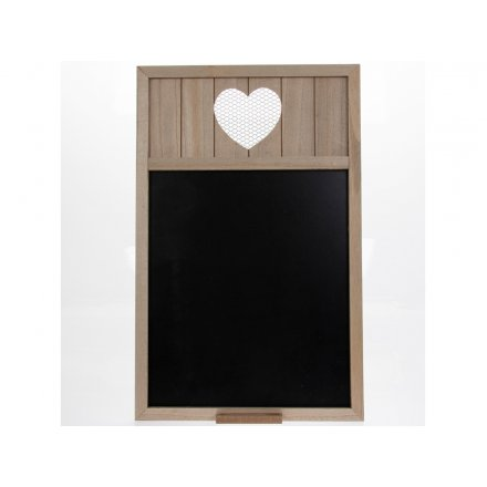 Heart Blackboard 56cm