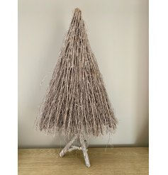 Bring a Rustic Woodland inspired feel to any home display at Christmas with this grey toned cluster of twigs