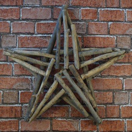 Chunky Twig Star, 56cm