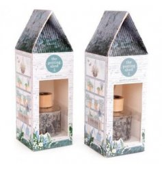 Charming reed diffuser gift set from the Love Grows Here giftware range in Garden Breeze or Garden Paradise scents