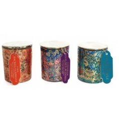 A gorgeous mix of beautifully decorated candle pots in an array of colours