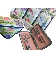 Bring a beautiful hint of Spring to your pampers and manicures with this charming assortment of individually decorated