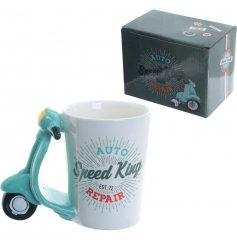 A quirky mug from the Speed King Range,