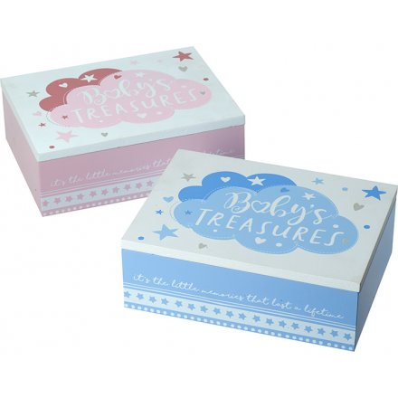 Assorted Baby Treasure Boxes
