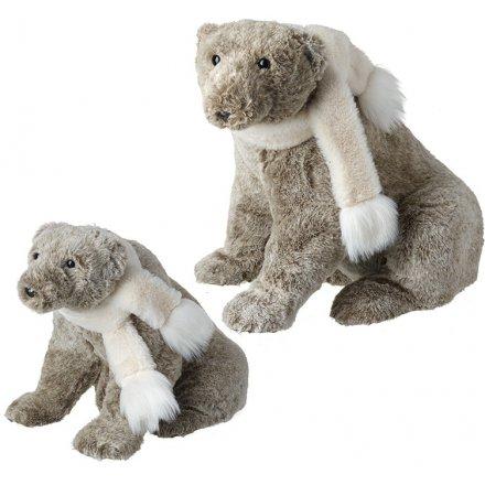 Set of Woodland Brown Bears