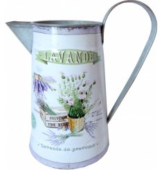 Printed with a lavender inspired decal, this charming jug will be sure to place perfectly in any home or garden space
