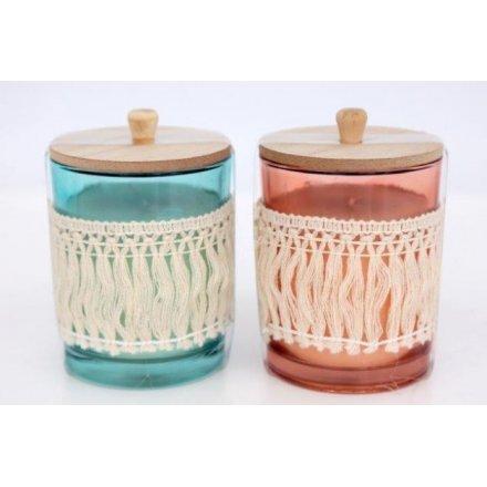 Festival Life Tassel Candle Pots
