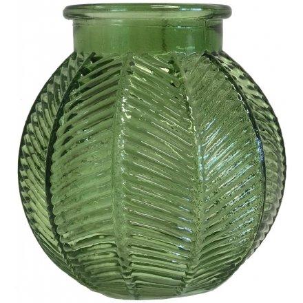 Green Bubble Glass Pot 46040 Interior Decor Jugs Vases