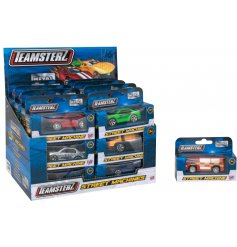 A single boxed diecast toy vehicle, 24 assorted