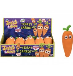 A crazy carrot novelty pocket money toy