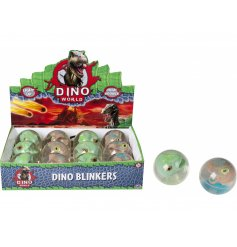 For the dinosaur lovers, a light up high bouncing ball