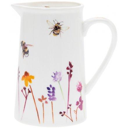 Busy Bee Ceramic Jug