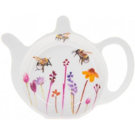 Busy Bee Garden Teabag Tidy
