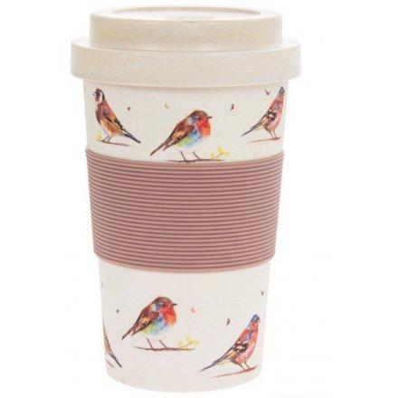 Garden Birds Travel Mug