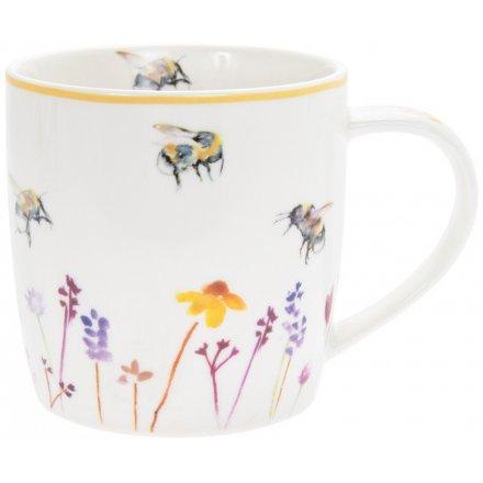 Busy Bee Garden Mug