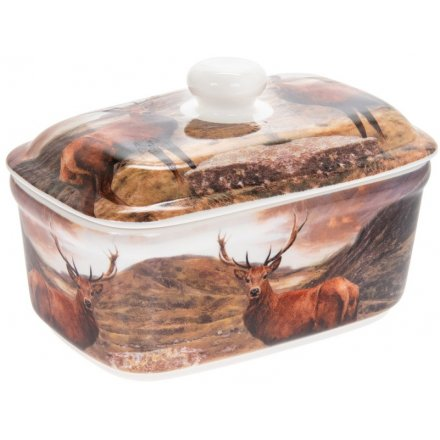 Woodland Stag Butter Dish