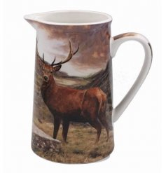 Bring the wilderness to your home with this beautifully printed Jug