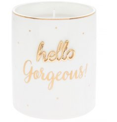 this beautifully decorated candle pot will be sure to make a fab gift idea for any friend