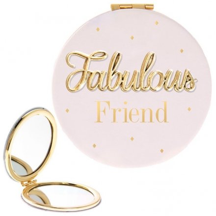 'Fabulous Friend' Oh So Compact Mirror