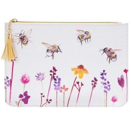 Busy Bee Clutch Bag