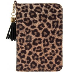 A fabulous leopard print passport holder from the Wild Side range by Leonardo