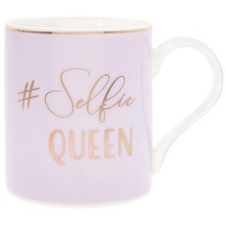 Selfie Queen White Mug