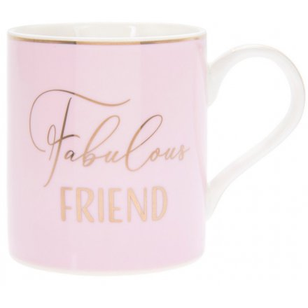Fabulous Friend Pink Mug