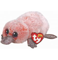 This pink and sparkly Platypus is far too fluffy to resist a cuddly