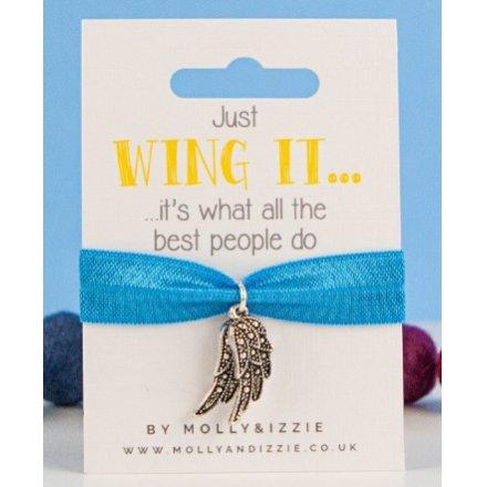 Just Wing It Stretchie Bracelet