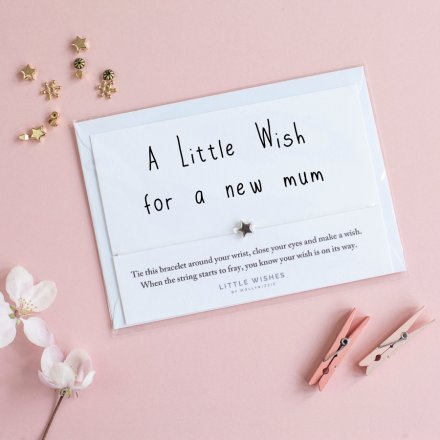 Little Wishes - Mum to Be Bracelet