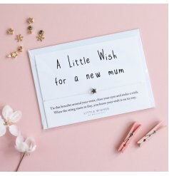 A simple yet sentimental gift idea for any mum to be who needs a little wish,