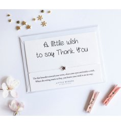A simple yet sentimental gift idea for any friend or family member who needs a little wish
