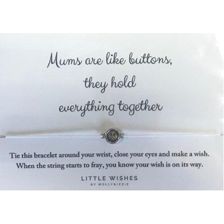 35 cm Mums Like Buttons Bracelet