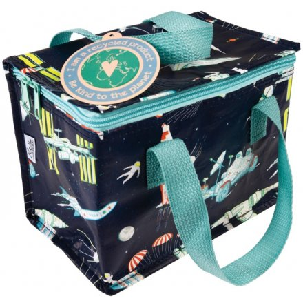 Out Of Space Fabric Lunch Bag