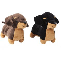 An adorable assortment of super snuggly Sausage Dog Toys