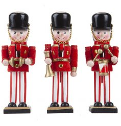 A traditional themed mix of Standing Wooden Nutcrackers,