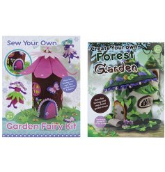 A fun mix of Sew Your Own Garden Fairy Kits